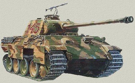 Тяжелый танк pz kpfw v пантера германия